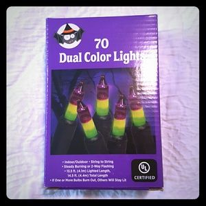 Other - Halloween Dual Color Lights